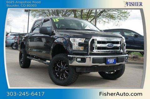 Used Ford F-150 4WD SuperCrew 145 XLT