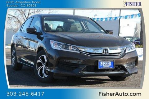 New Honda Accord 4dr I4 CVT LX