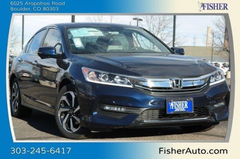 New Honda Accord 4dr I4 CVT EX-L